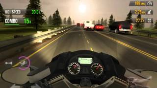 Traffic Rider Mission 30 Reach 30 Max Combo in 60 Seconds Gameplay