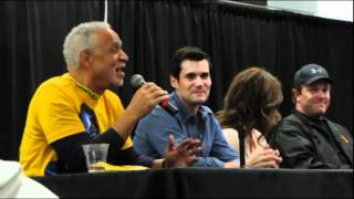 SciFi Expo - Firefly Panel - Jewel Staite, Ron Glass tell Adam Baldwin Stories