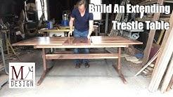Extending Trestle Table