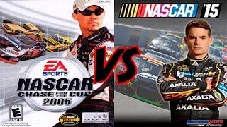 NASCAR 2005 vs NASCAR