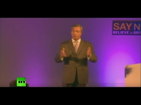 Nigel Farage's full speech at UKIP party conference