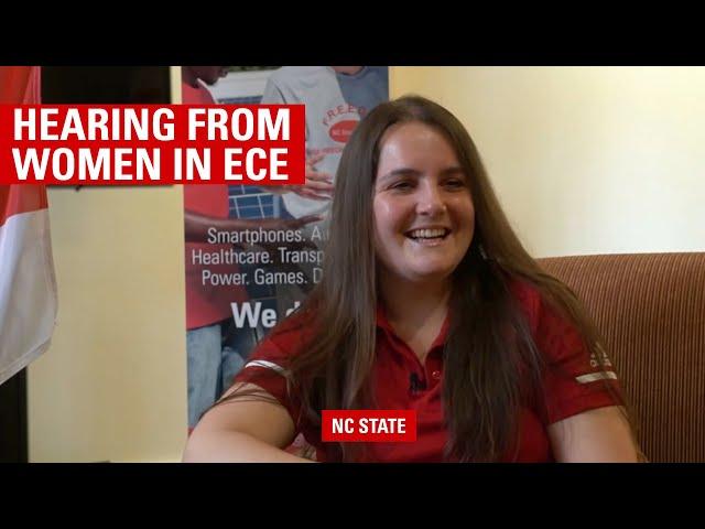 Let's Hear it for the Women in ECE
