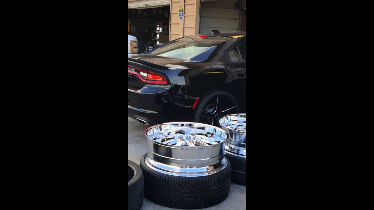 2016 Dodge Charger On 24s Youtube