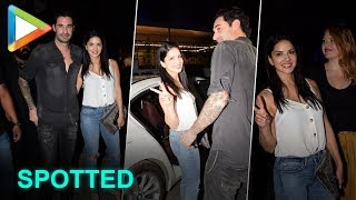 SPOTTED: Sunny Leone with her husband Daniel Weber @Juhu