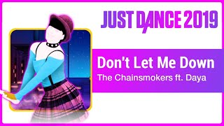 Just Dance 2019 (Unlimited): Don't Let Me Down