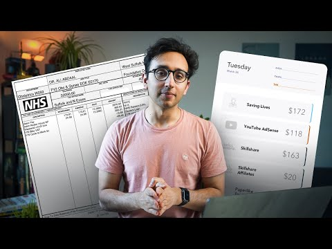 How Much Money I Earn in a Week as a Doctor & YouTuber