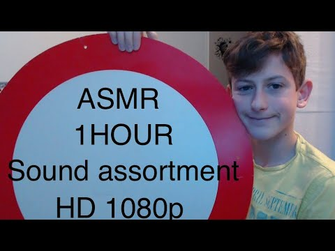 asmr 1hour sound assortment!(50+triggers) lovely asmr s