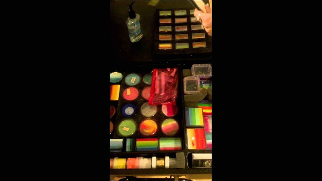 How To Use A Craft N Go As A Face Paint Kit Youtube