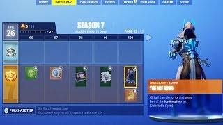NEW FORTNITE SEASON 7 OUT NOW! NEW SEASON 7 BATTLE PASS IN FORTNITE! (FORTNITE BATTLE ROYALE)