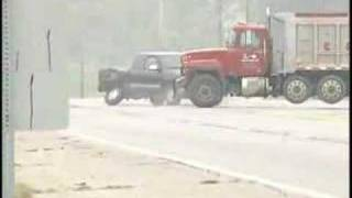 Car Wreck (Almost) Caught on Camera by National News