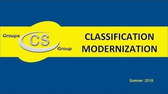 2019 Classification Modernization