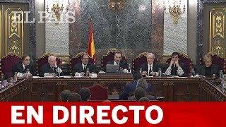 DIRECTO JUICIO PROCÉS | Declaran ex altos cargos de la Generalitat y observadores internacionales