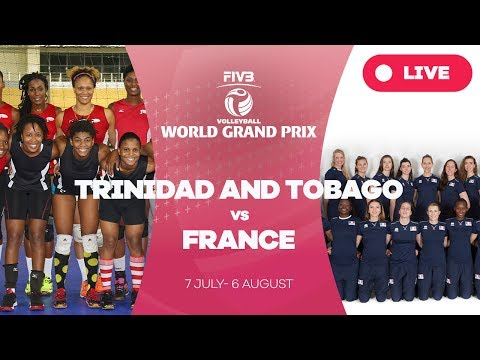 Trinidad & Tobago v France - Group 3: 2017 FIVB Volleyball W
