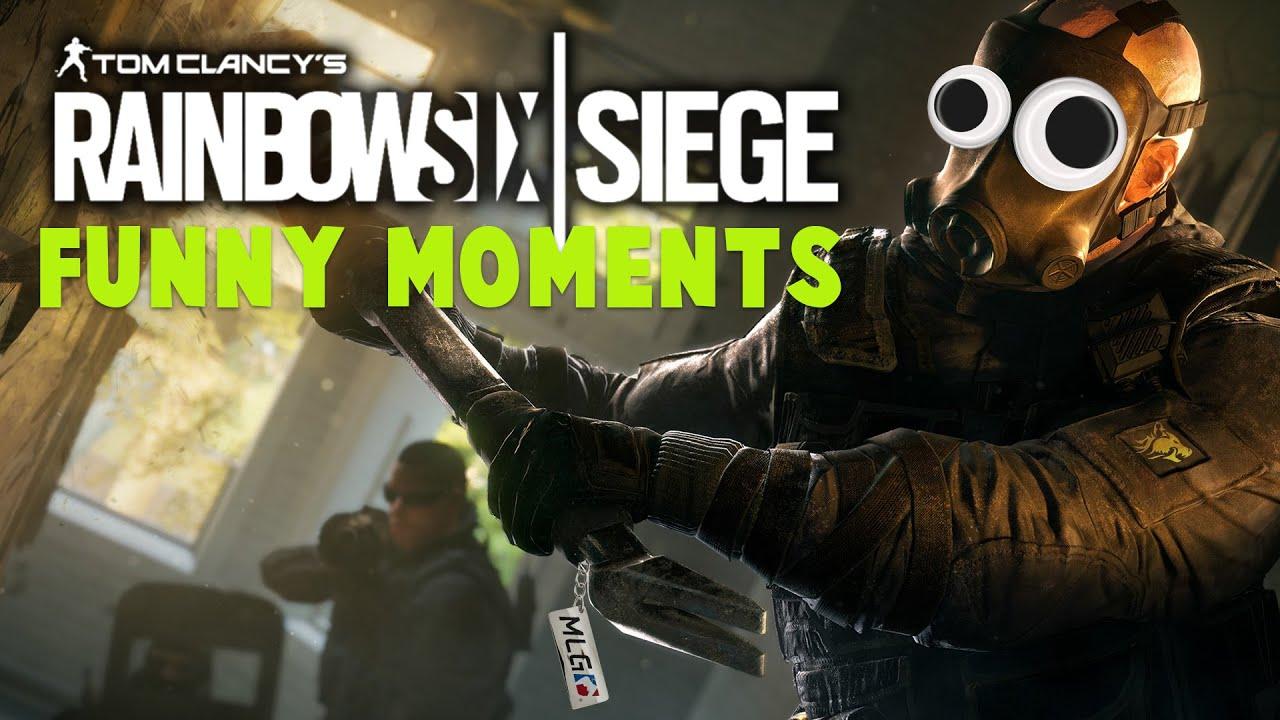 Funny Moment Rainbow Six Siege
