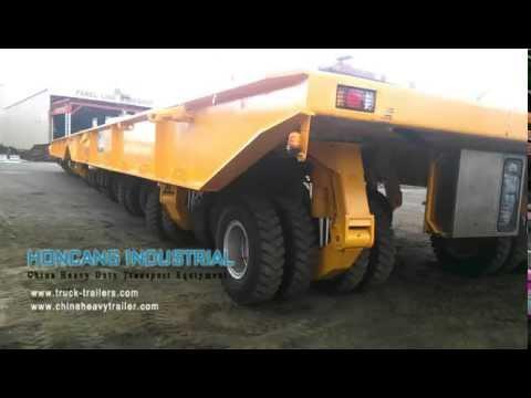 Heavy duty hydraulic modular shipyard transporter used in Philippines (Keppel Philippines)