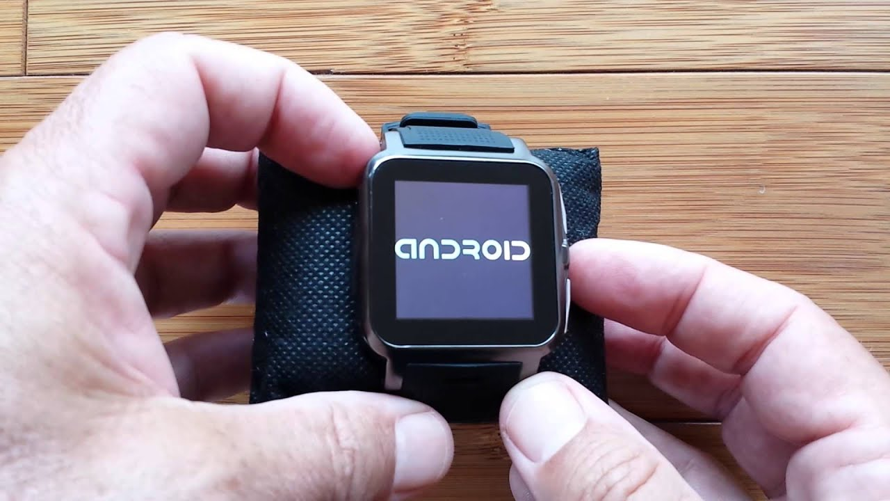 AOKE Z15 Smartwatch Self-Bricked! No Recovery -