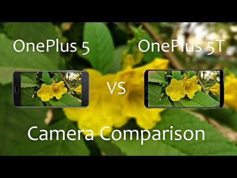 OnePlus 5T Vs OnePlus 5 Camera Comparison
