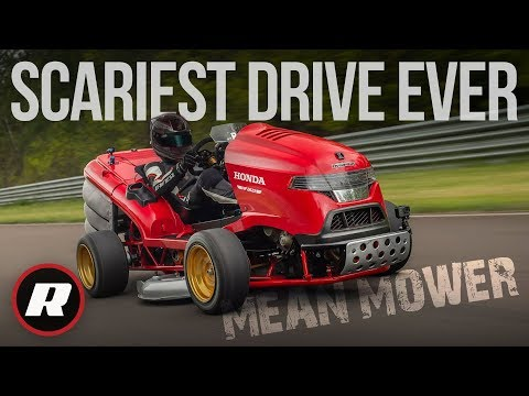 Honda Mean Mower V2: Driving the most terrifying thing on four wheels