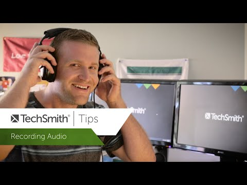 Mics, Audio Recorders & How to Sync Video with Audio - TechSmith Tips
