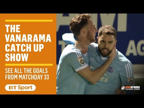 Vanarama National League Highlights Show | Matchday 33