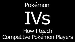 what are ivs pokemon what are individual values pokemon pokemon ivs tutorial
