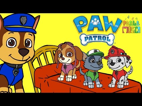 🌟 CINCO PERRITOS 🌟 Con los bebes perritos   Canciones Infantiles   Dibujos Animados