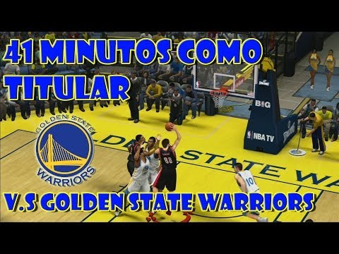 NBA 2K14 - Mi Carrera - 41 minutos como titular - v.s. Golden State Warriors - Ep 6