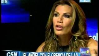 C5N - EL ANGEL DE LA MEDIANOCHE: ENTREVISTA A FLORENCIA DE LA V