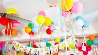 Simple birthday decoration ideas at home | 1st Birthday Decoration ideas | Kids birthday party ideas