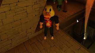 ROBLOX: I TURNED A VERY STRONG DUCK AND ESCAPED THE HUNTER!!! (Duck Dash!)