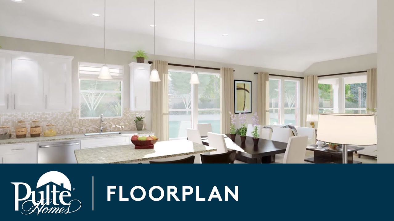 New Homes by Pulte Homes – Calais Floorplan - YouTube