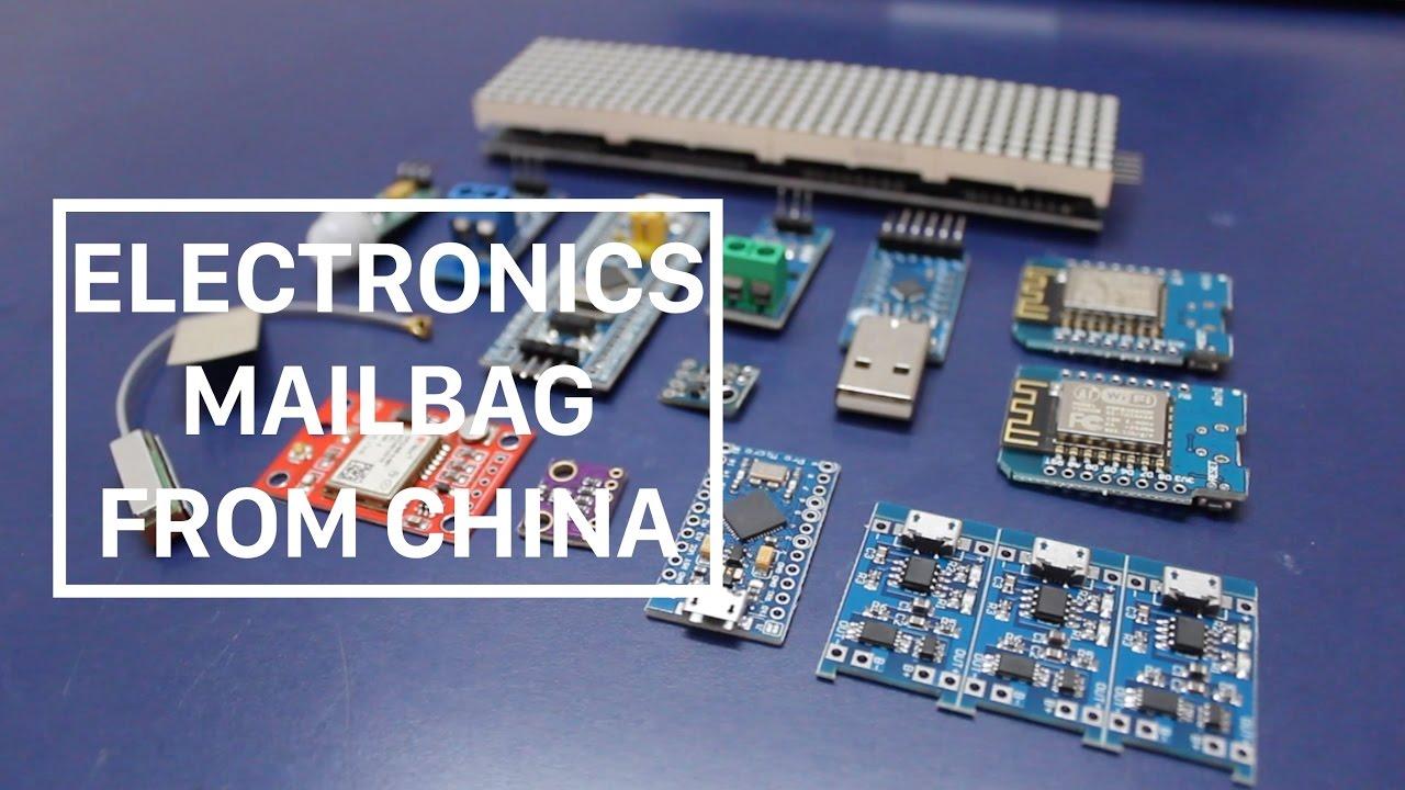 #2: Mailbag 1 (WeMos, Neo6M, Sonoff, ESP8266, Arduino, STM32)