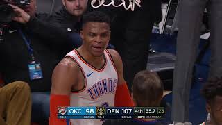 Russell Westbrook and Jamal Murray Get In Shoving Match
