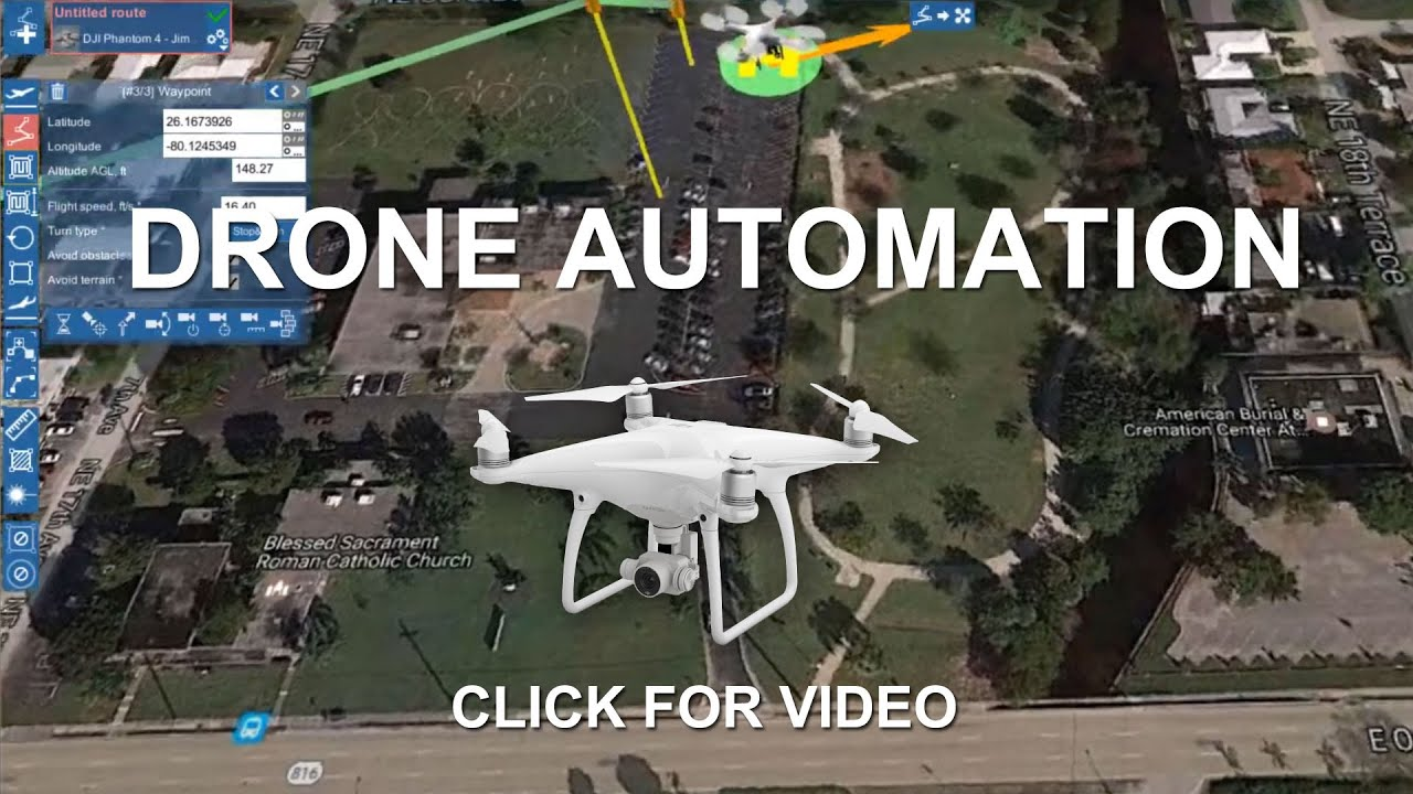 Automated Drone Flight with UgCS