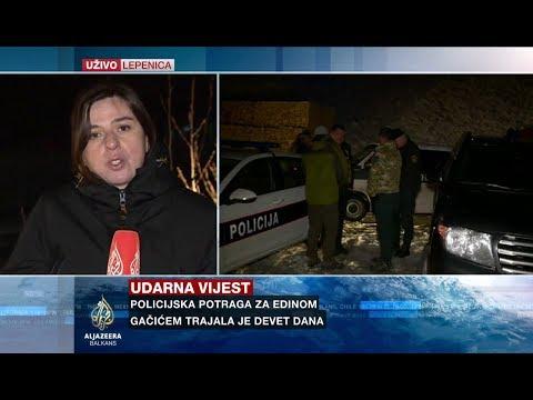 Nezirović: Pronađena zemunica u kojoj je Gačić boravio