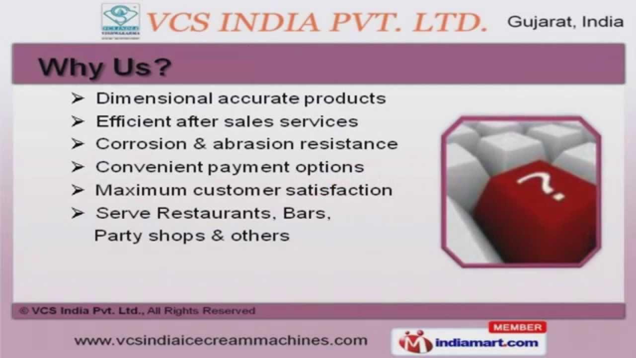 Ice cream making machines by vcs india pvt ltd gujarat youtube ice cream making machines by vcs india pvt ltd gujarat ccuart Gallery