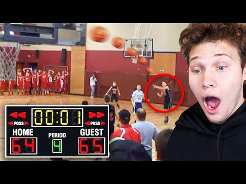 Most Ridiculous Buzzer Beater You Will Ever See