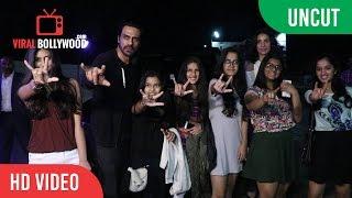 UNCUT - ROCK ON 2 Special Screening   Shraddha Kapoor, Farhan Akhtar, Pooja Hegde, Arjun Rampal etc