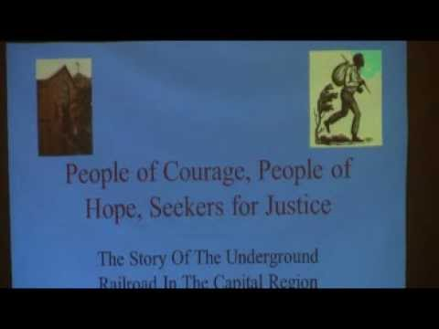 Underground Railroad -- Part II at the Capital District Humanist Society