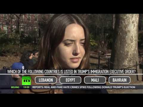NY University students defiant about Trump's travel ban, unsure of details