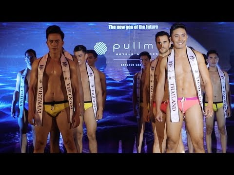 Mister National Universe 2017 | รอบชุดว่ายน้ำ | VDO BY POPPORY