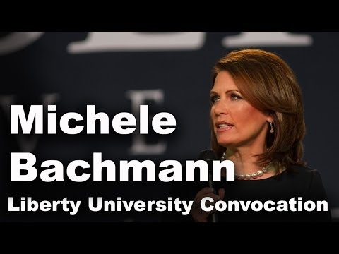 Michele Bachmann - Liberty University Convocation
