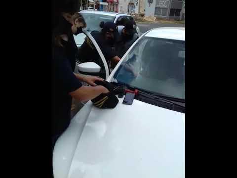 Dos personas fueron detenidas este viernes en Paraná por que transportaba estupefacientes 06