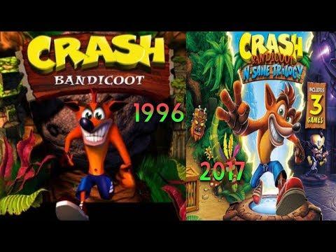 Crash Bandicoot Evolution Inspired By Andrew Luiz