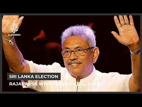Former Defence Secretary Gotabaya Rajapaksa wins Sri Lanka election