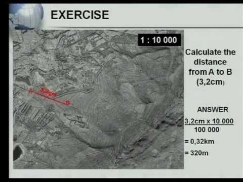 Matric revision: Geography: Map Work: Calculations (1/7): Distance