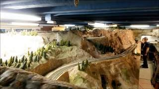 Golden Spike Train Club of Utah September Open House 16x Time Lapse