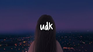 olivia o'brien - udk // lyrics