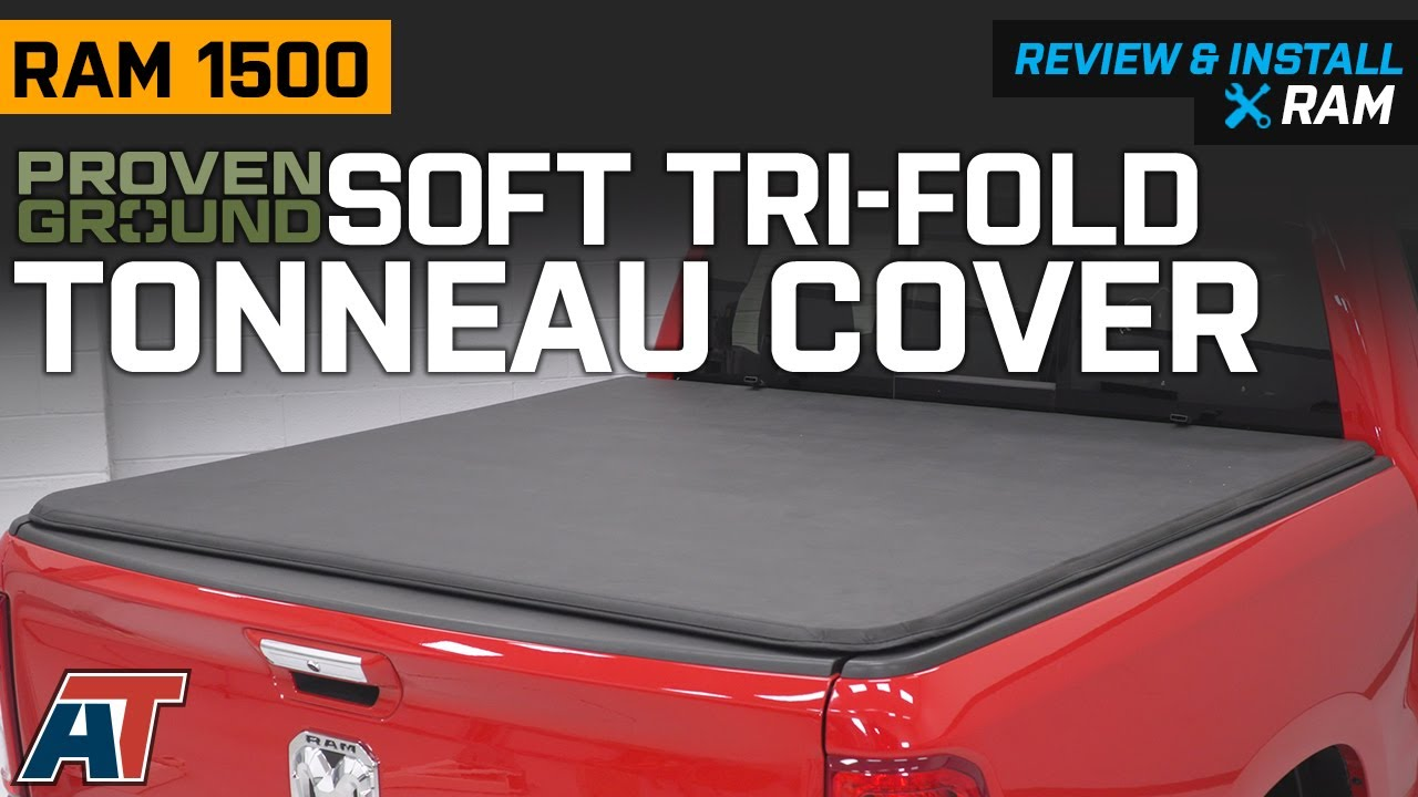 2019 2020 Ram 1500 Proven Ground Soft Tri Fold Tonneau Cover Review Install Youtube