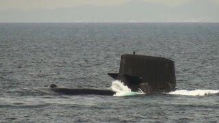 平成27年10月15日 観艦式予行③ 訓練展示  Japan Maritime Self-Defense Force Fleet Review 2015